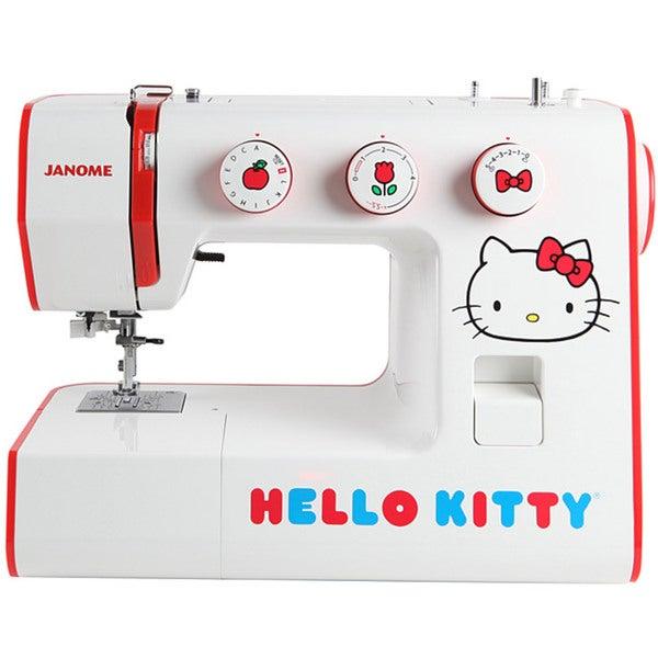 Janome Hello Kitty 15822 Heavy-duty Aluminum 22-stitch Sewing Machine