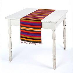 Agua Caliente Fiesta Striped Table Runner (Guatemala)