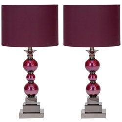 Casa Cortes Loft Chic 1-light Table Lamps (Set of 2)