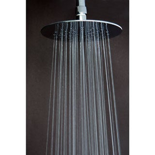 Watersense Rainfall Chrome Showerhead