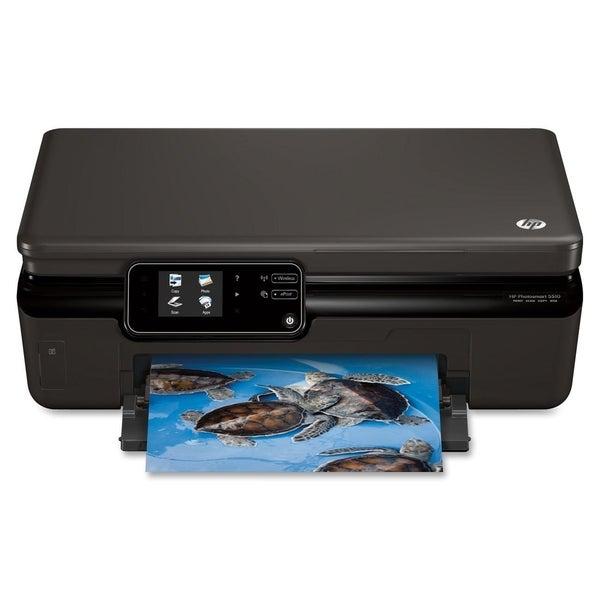 HP Photosmart 5510 B111A Inkjet Multifunction Printer - Color - Photo