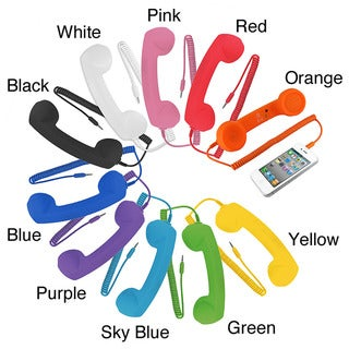 8-inch Retro Phone Handset for iPhone/iPad/iPod