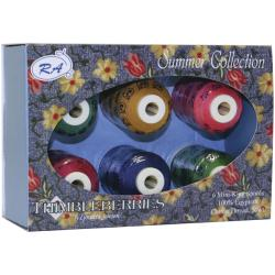 Thimbleberries Cotton Thread Collections 'Summer' (Pack of 6)