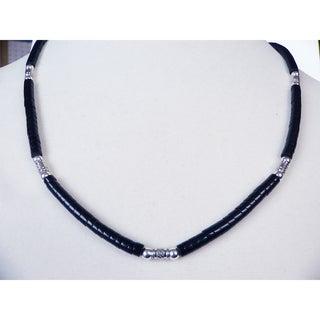 'Gentleman's' Black Necklace