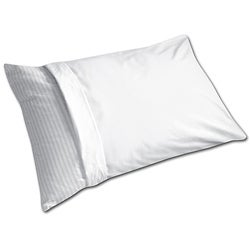 Antimicrobial Cotton Standard-size Pillow Protectors (Set of 6)