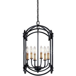 World Imports Hastings Collection 6-light Hanging Lantern