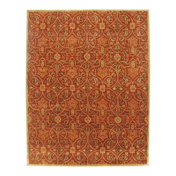 Hand-tufted Orosius Wool Rug (8' x 11')