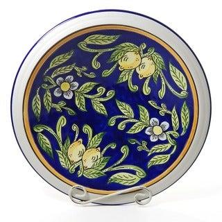 Citronique Design Ceramic 14-inch Bowl (Tunisia)