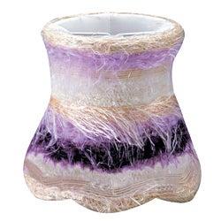 Purple Silk Mini Shades (Set of 4)
