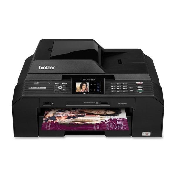 Brother MFC-J5910DW Inkjet Multifunction Printer - Color - Plain Pape
