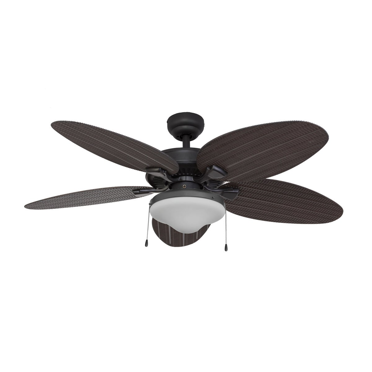 EcoSure Siesta Key Globe Bronze 52-inch Ceiling Fan