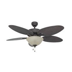 EcoSure Siesta Key Bowl Light Bronze 52-inch Ceiling Fan