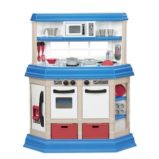 American Plastic Toys Cookin Kitchen Play Set With