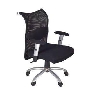 aspire low back office chair with lumbar support overstock shopping the best prices on. Black Bedroom Furniture Sets. Home Design Ideas