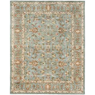 Safavieh Handmade Heritage Nir Blue Wool Rug (9'6 x 13'6)