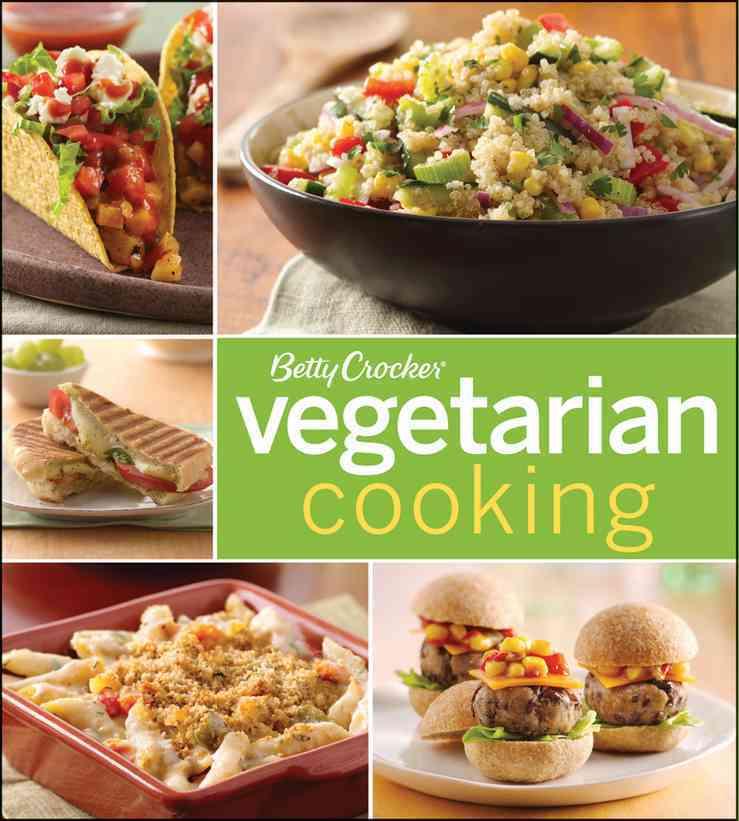 Betty Crocker Vegetarian Cooking (Paperback)