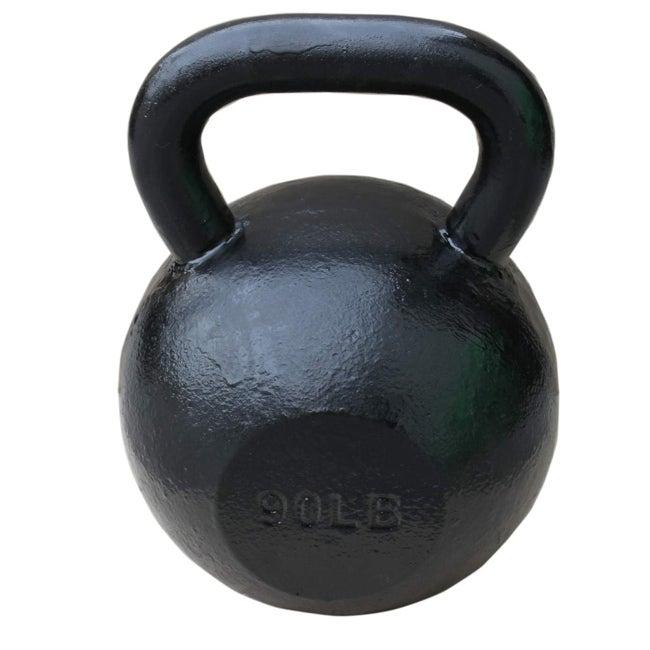 Sunny Black 90-pound Kettle Bell