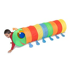 Melissa & Doug Happy Giddy Play Tunnel