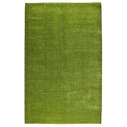 Hand-woven Cher Green Area Rug (5' x 8')