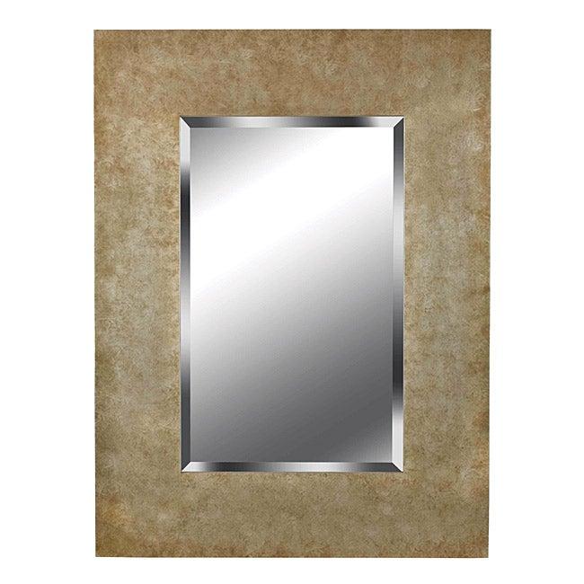 Hardin Golden Copper Wall Mirror (40 x 30)