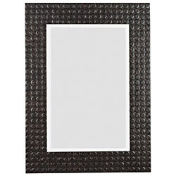 St. Lucie Black Multi-Finish Wall Mirror (38 x 28)