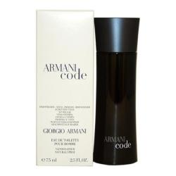 Giorgio Armani Code Men's 2.5-ounce Eau de Toilette Spray (Tester)