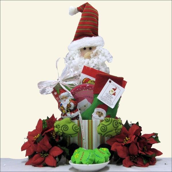 Santa!: Children's Holiday Christmas Gift Basket
