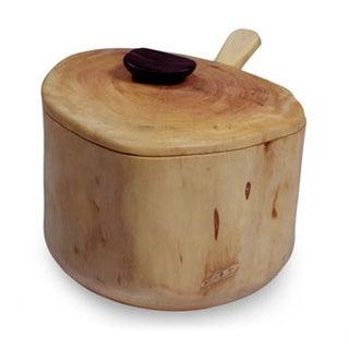 Granadillo Wood 'Sweet Acatenango' Sugar Bowl (Guatemala)