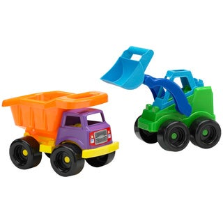 American Plastic Toys Chubby Construction Toy Set (Case Pack of 12)