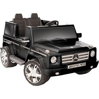 Black 12V Mercedes Benz G55 AMG Ride-on Vehicle