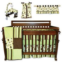 Trend Lab 7-piece Giggles Crib Bedding Set
