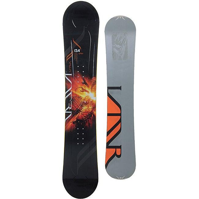 Lamar Men's Black/ Orange Ultra 157cm Snowboard