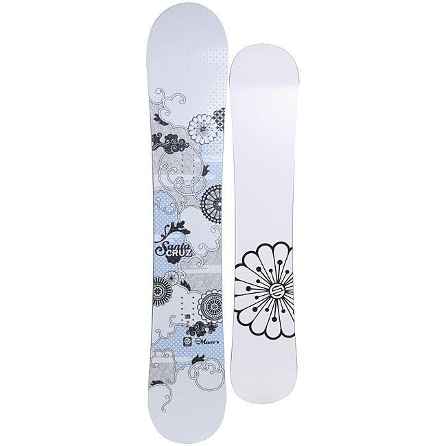Santa Cruz Women's White Muse 151cm Snowboard