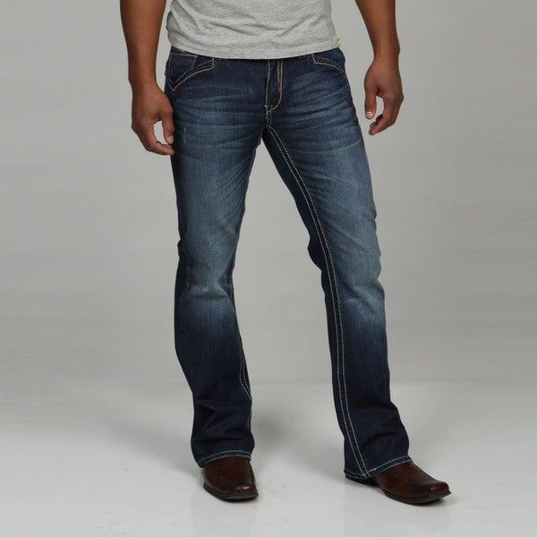 Seven7 Men's Droid Bootcut Jeans