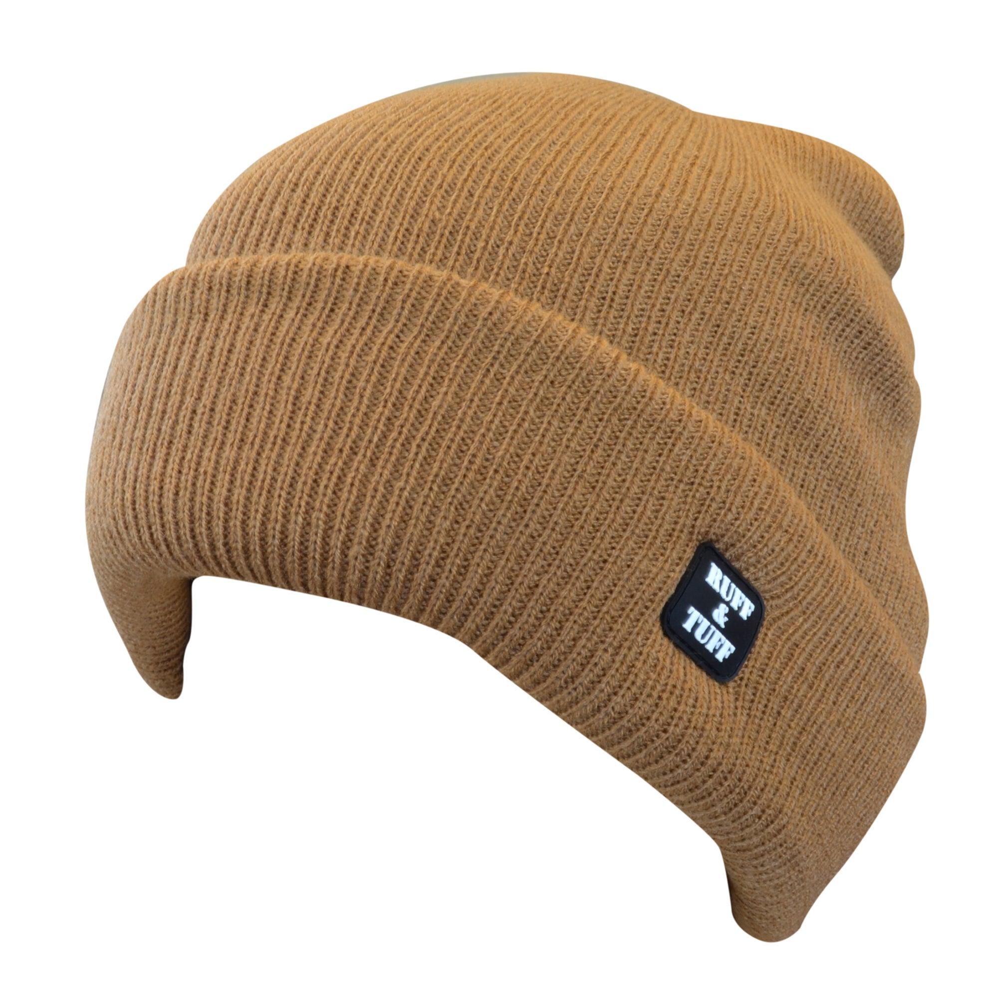 Quiet Wear Ruff & Tuff 4-layer Brown Cuff Cap