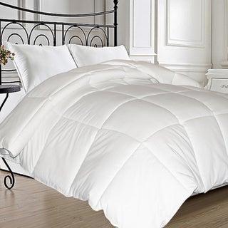 All-Season Microfiber Feather-Blend Comforter