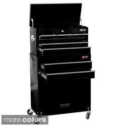 Excel 24-inch 8-drawer Tool Chest and Roller Cabinet Combination