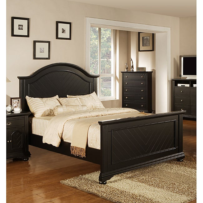 Napa Black Twin-size Bed