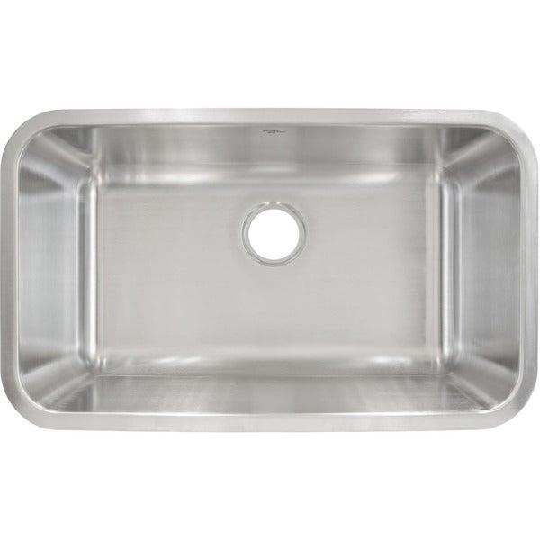 Lesscare stainless steel undermount sink overstock - Great kitchen sinks ...