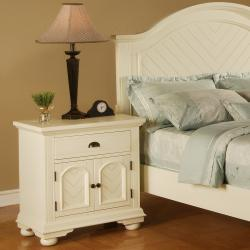 Napa White Nightstand