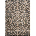 Safavieh Ultimate Dark Grey/ Tan Shag Rug (8'6 x 12')