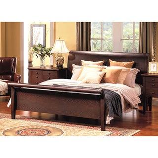 Abbyson Living Novara King-size Sleigh Bed