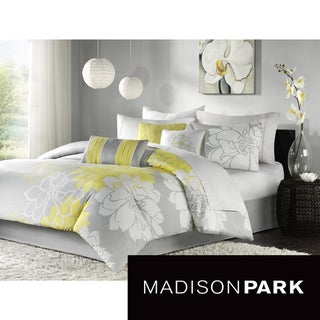 Madison Park Brianna 7-piece Comforter Set with Polyester Fill