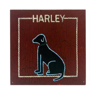 Harley Dog Wall Panel
