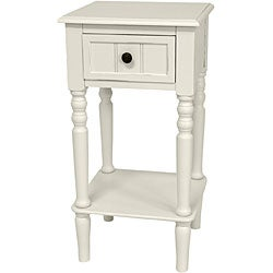 Wood 28-inch Classic Design Square Accent Table (China)