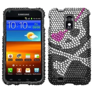 Premium Samsung Galaxy S2 EPIC 4G Touch Skull Rhinestone Case