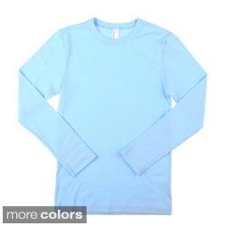 American Apparel Kids' Baby Rib Long Sleeve Tee Shirt