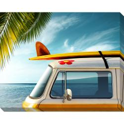Palm Van Oversized Gallery Wrapped Canvas