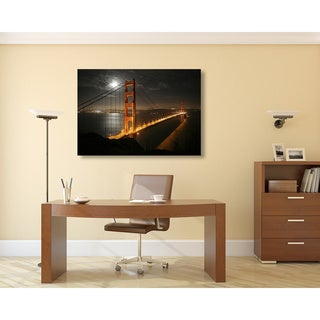 Golden Gate Bridge Oversized Gallery Wrapped Canvas