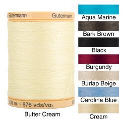 Gutermann Natural Solids 876-Yard 100-percent Natural-cotton Thread